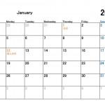 カレンダー無料ダウンロード