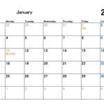 2016年カレンダー