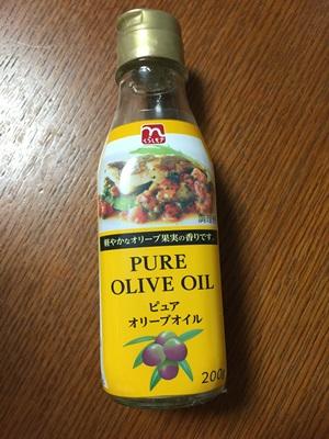 ビン製の油容器