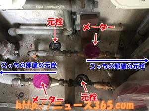 水道の元栓