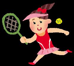 テニス女子