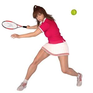 女性テニス選手